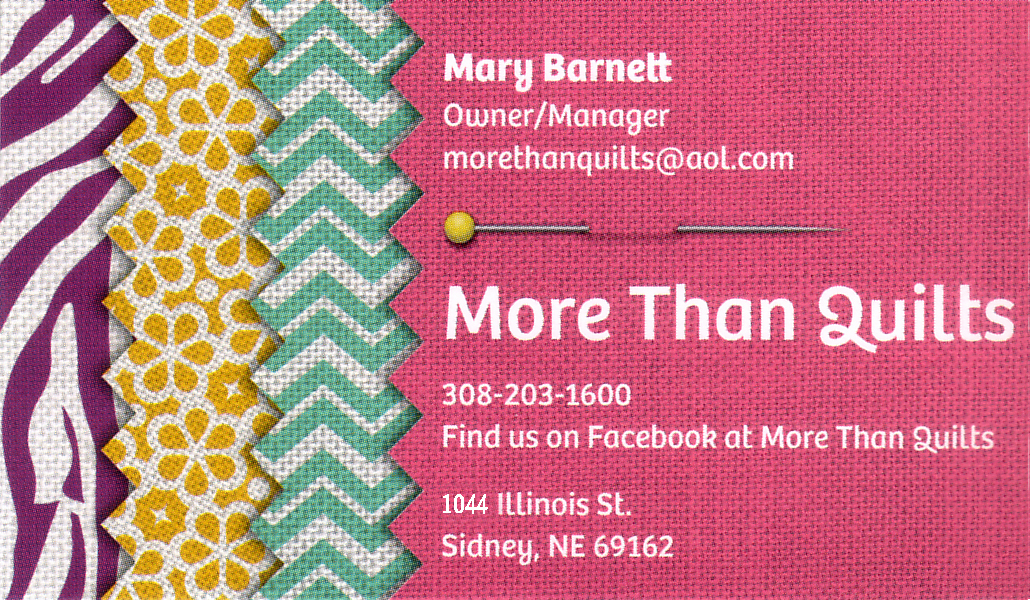 More Than Quilts - Mary Barnett