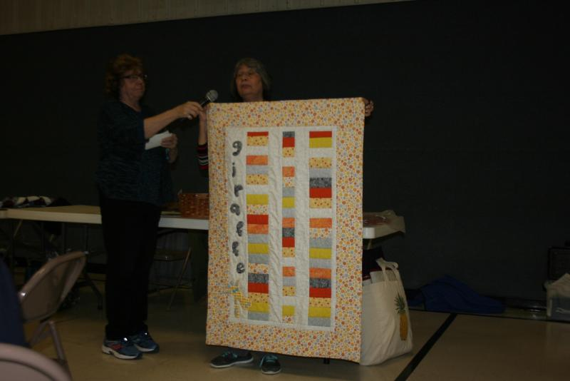 Irene H.-Baby quilt for National Quilters Day give away