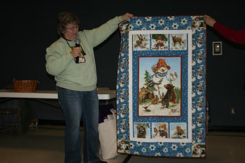 Shirley H.-Snowman wall quilt
