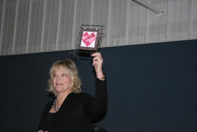 Marla M.-Valentines mini quilt
