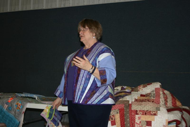 Kathy M.-Sweatshirt jacket & matching purse