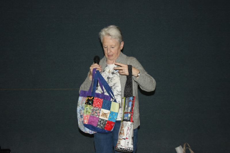 Tina G. 3 tote bags donated to Silent Auction