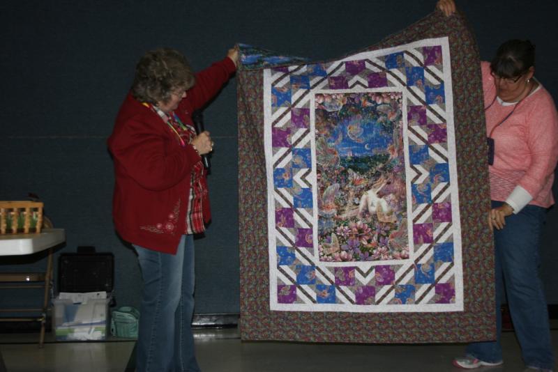 Shirley H. Dreamland Fairy Quilt