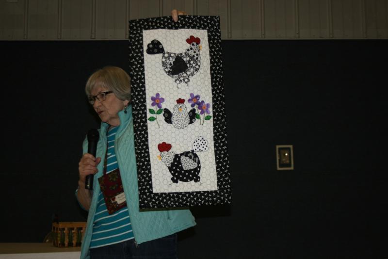 Marlene H. Chicken quilt