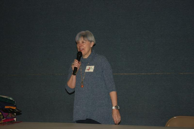 Peg Pennell sharing her quilts!