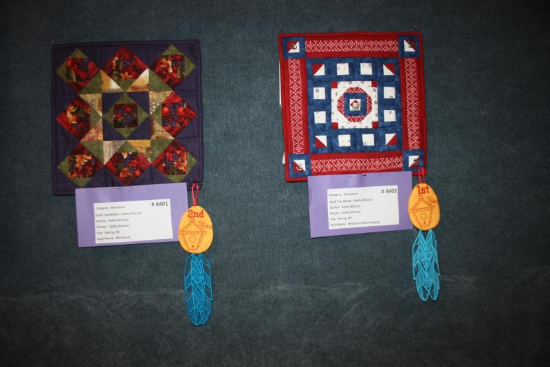 Miniature 1st & 2nd--Kathy McCool