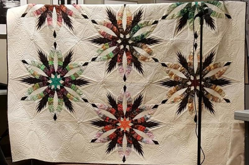 The awesome 2019 Serendipity Quilt was revealed