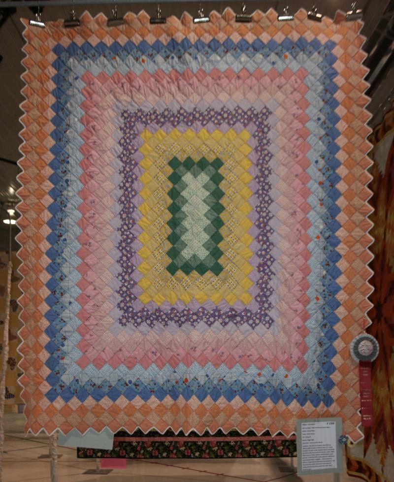 Hand Quilted 2nd Place: Peggy Fegler