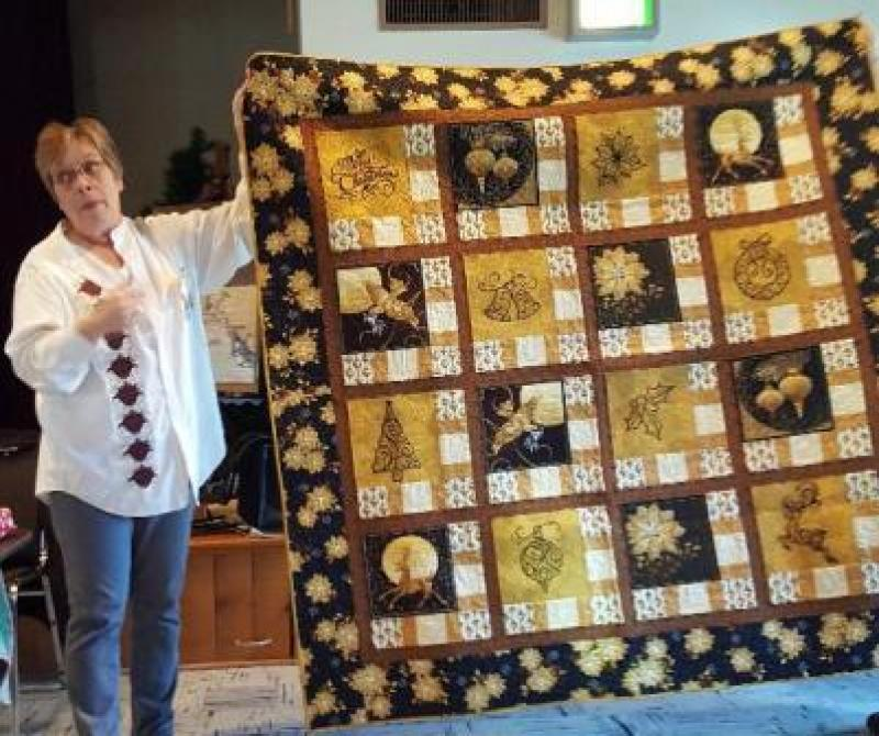 Lori S Christmas Quilt