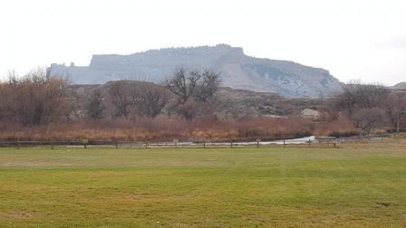 Friday  and the beautiful view of the Scotts Bluff Monument for inspiration